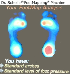 walmart dr scholls foot machine