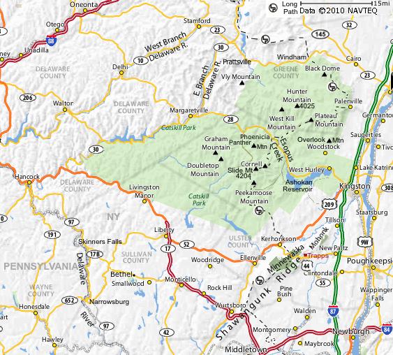 Catskills \u0026 Shawangunk Ridge