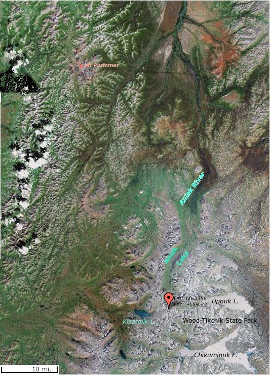 Aniak Satellite View