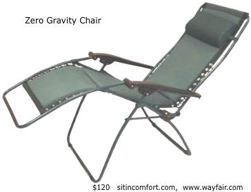 Mattress Pasadena Ca SONOMA outdoors Antigravity Chair | Kohls $75 | Adjustable Laptop Cart ...